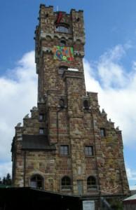 Altvaterturm am Wetzstein, Mahnmal der Vertreibung