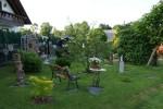Ruheplatz im Garten der PensionG