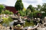 Brunnen im Garten der Familie Lorenz in Friesau